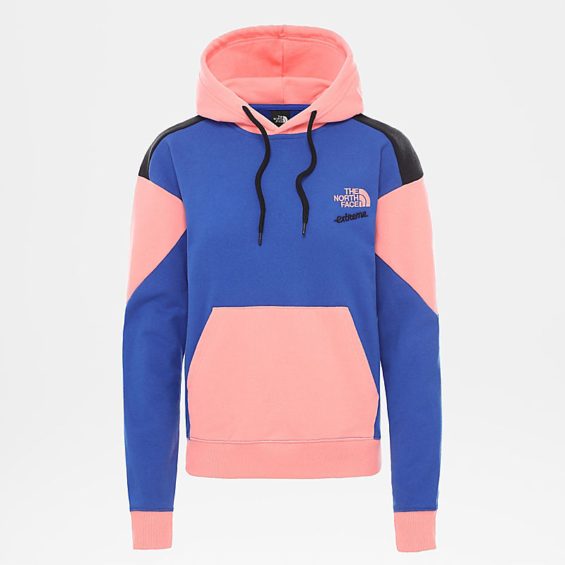 Women's Extreme Cropped Pullover Hoodie-