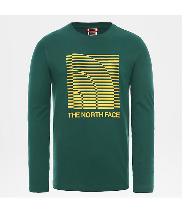 Half Dome Optical T-shirt met lange mouwen voor heren | The North Face