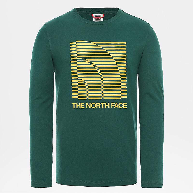 T-shirt Half Dome Optical à manches longues pour homme-