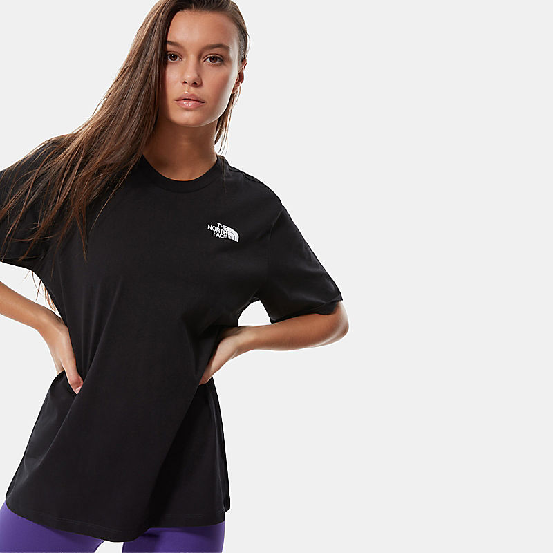 T-Shirt Donna Bf Simple Dome-