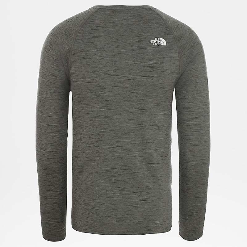 Men'S Active Trail Jacquard Long-Sleeve Top-