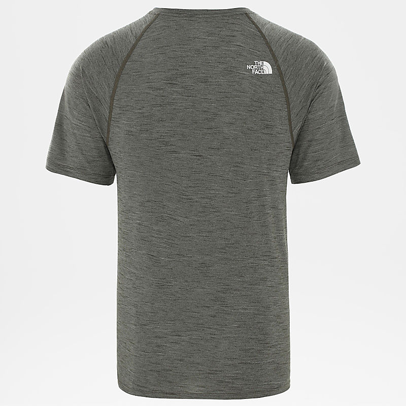 T-Shirt Active Trail Jacquard Para Homem-