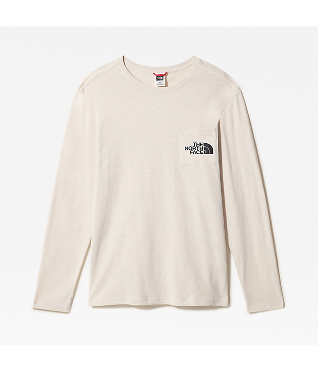 TISSAACK T-SHIRT MET LANGE MOUWEN VOOR HEREN | The North Face