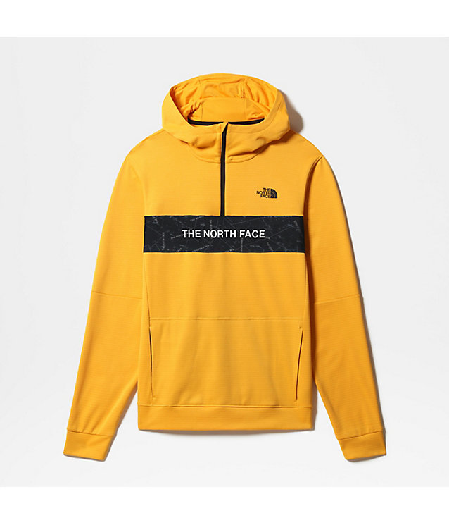 HERREN TRAIN N LOGO KAPUZENJACKE AUS FLEECE MIT 1/4-REIßVERSCHLUSS | The North Face