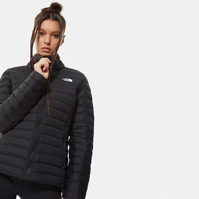 The North Face Womens Stretch Down Jacket Tnf Black Size L