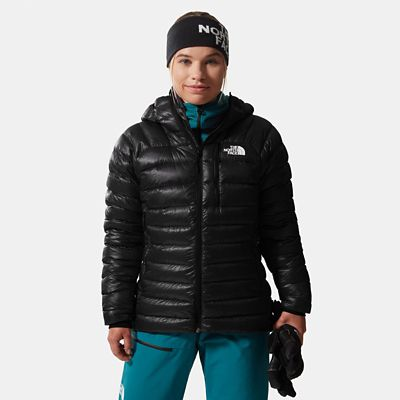 The North Face Womens Hooded Down Jacket Tnf Black Size L