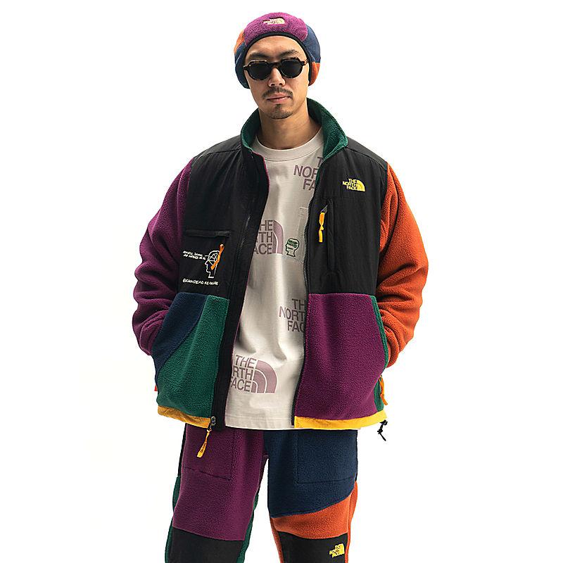 Men's Brain Dead Denali Full Zip Fleece Jacket-