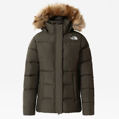 The North Face Womens Gotham Jacket New Taupe Green Size S