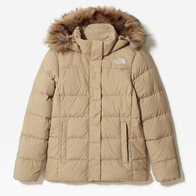 The North Face Womens Gotham Jacket Hawthorne Khaki Size S