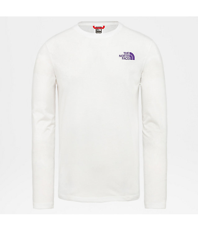 T-shirt Uomo a maniche lunghe Slanted Logo | The North Face