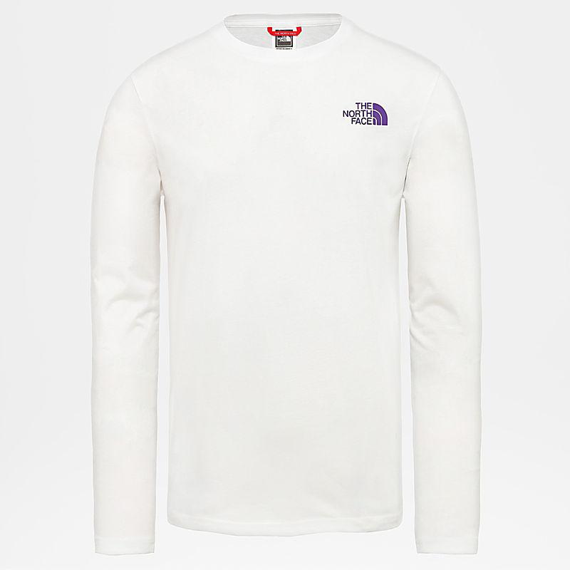 T-shirt Uomo a maniche lunghe Slanted Logo-