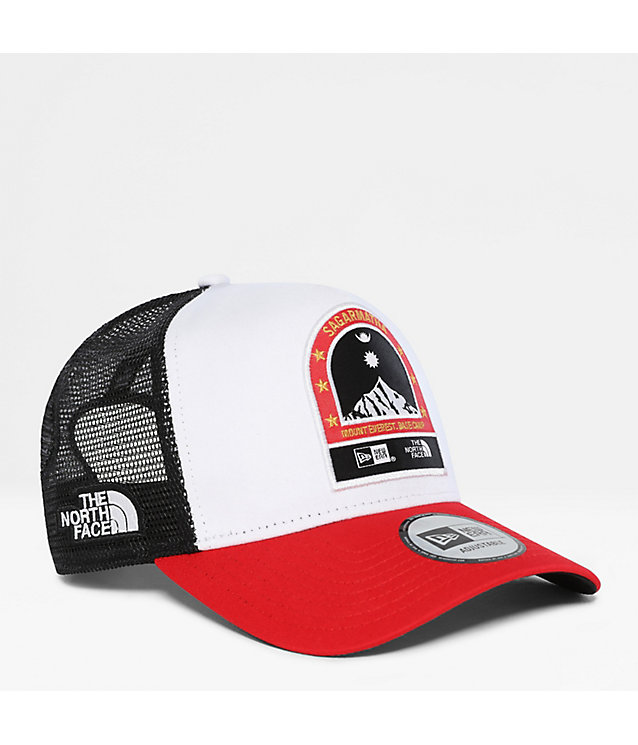 Officiële New Era x The North Face 9FORTY-truckerspet met A-frame | The North Face