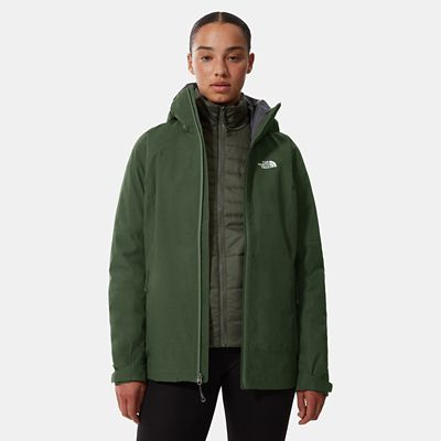 The North Face Womens Inlux Triclimate Jacket Thymlththr/thy