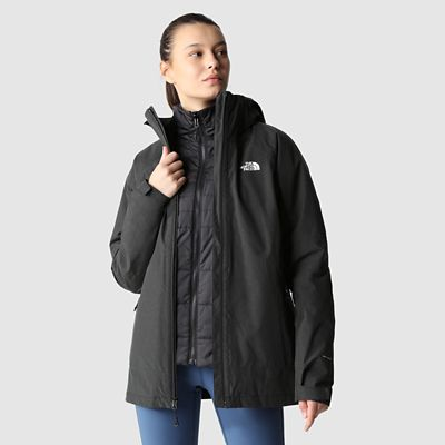 The North Face Womens Inlux Triclimate Jacket Tnf Black Heat