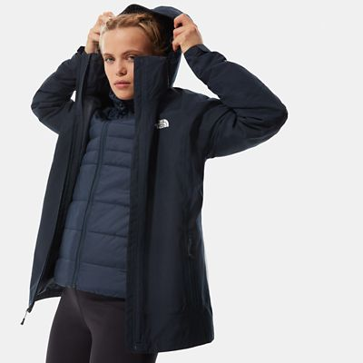 The North Face Womens Inlux Triclimate Jacket Urban Navy Lig