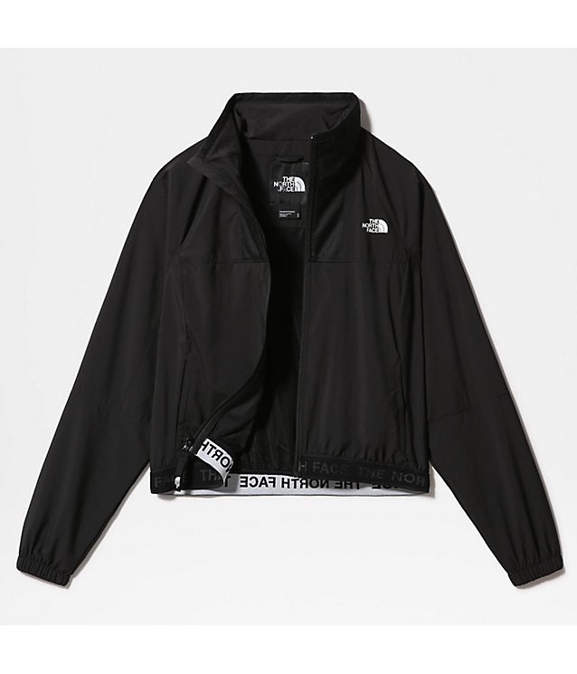 WOMEN'S TRAIN N LOGO WIND JACKET | The North Face