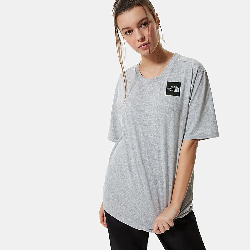 Women's Boyfriend-Fit Fine T-Shirt-