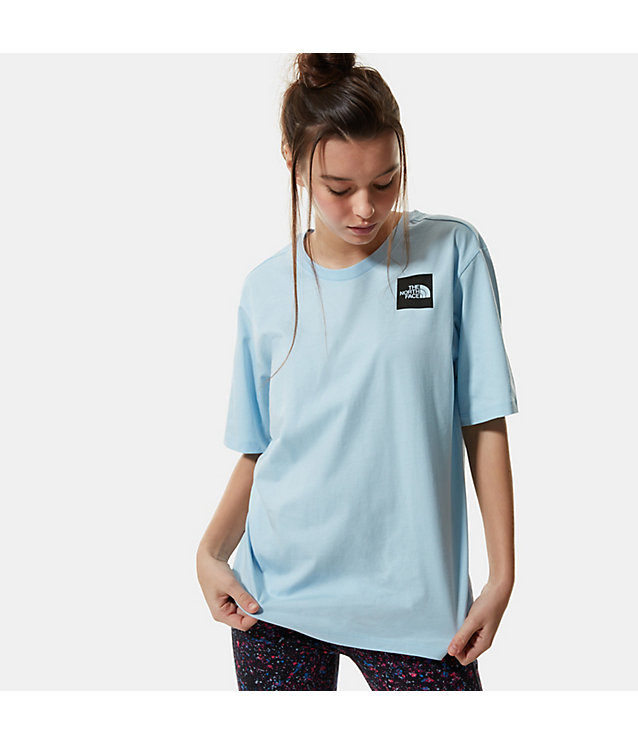 BOYFRIEND-FIT FINE T-SHIRT VOOR DAMES | The North Face