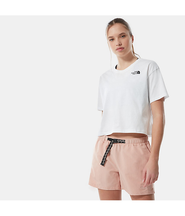 Women's Cropped Simple Dome T-Shirt | The North Face