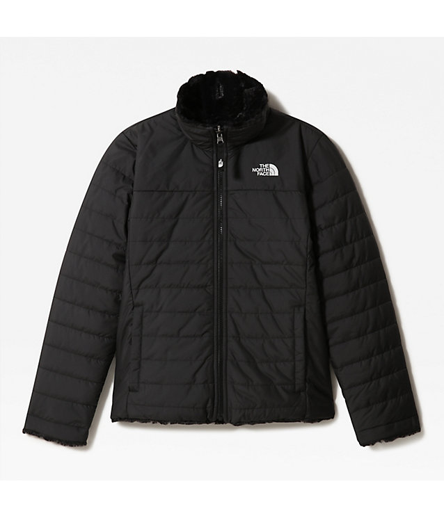 OMKEERBARE MOSSBUD SWIRL-JAS VOOR MEISJES | The North Face