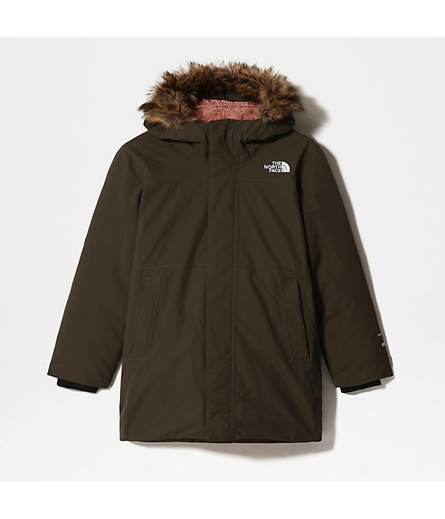 PARKA ARCTIC SWIRL POUR FILLE | The North Face