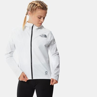 The North Face Womens Lightriser Futurelight Jacket Tnf Whit
