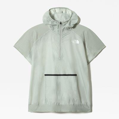 The North Face Anorak À Manches Courtes Glacier Pour Femme Wrought Iron Taille XL