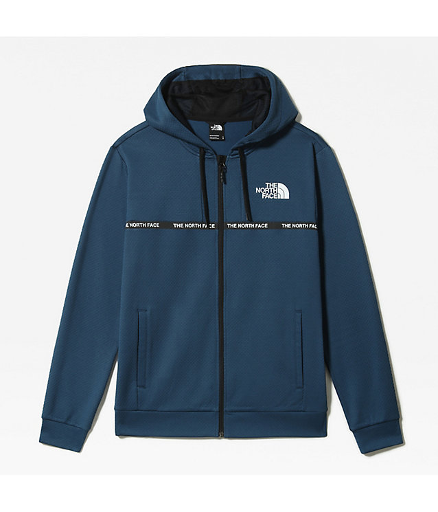 MEN'S MOUNTAIN ATHLETICS OVERLAY ZIP-UP HOODIE | The North Face