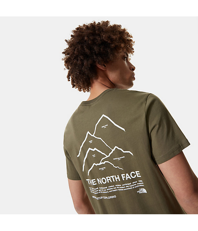 T-shirt Peaks pour homme | The North Face