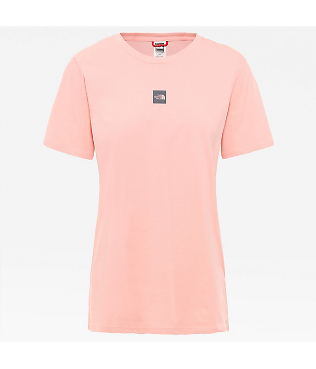 Central Logo Boyfriend-T-shirt voor dames | The North Face