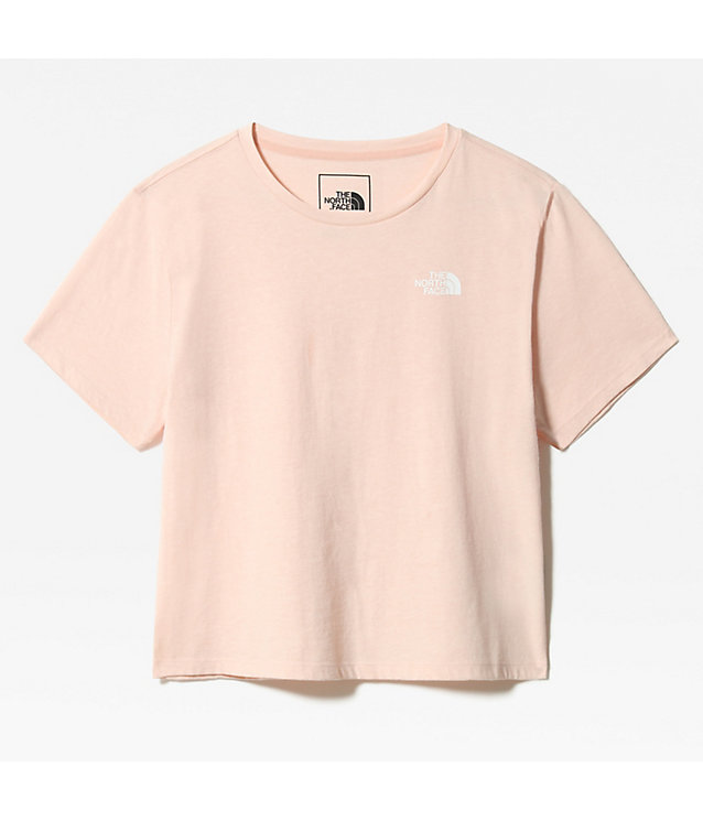 WOMEN'S FOUNDATION CROPPED T-SHIRT | The North Face