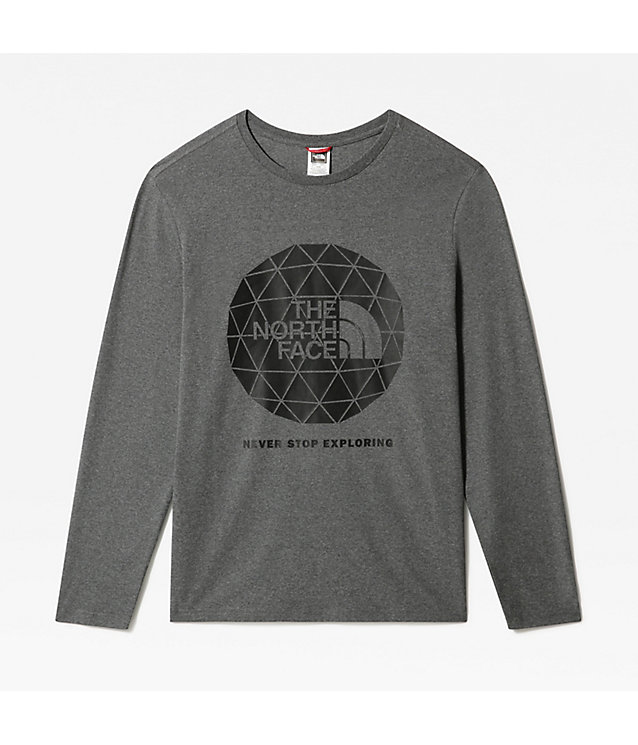 Geodome-T-shirt met lange mouwen voor heren | The North Face