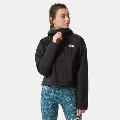 The North Face Womens Cropped Quest Jacket Tnf Black Size XL