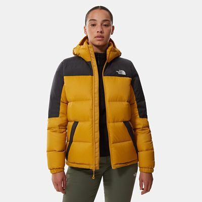 The North Face Womens Diablo Down Jacket Arwood Yellow/tnf B