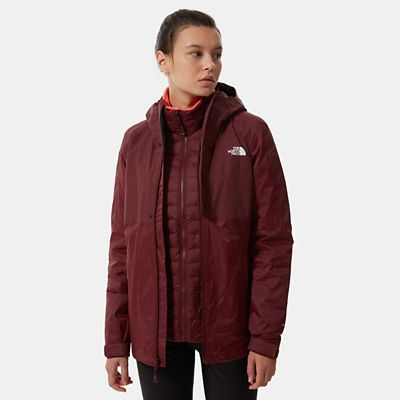 The North Face Womens Down Insulated Dryvent Triclimate Jack