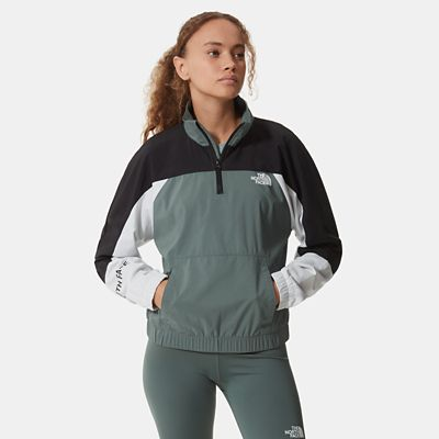 The North Face Womens Mountain Athletics Wind Jacket Balsam
