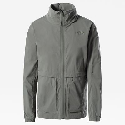 The North Face Womens Sightseer Jacket Agave Green Size M