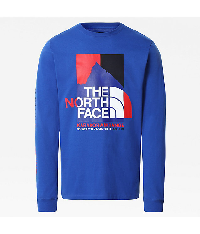 MEN'S K2RM GRAPHIC LONG-SLEEVE T-SHIRT | The North Face