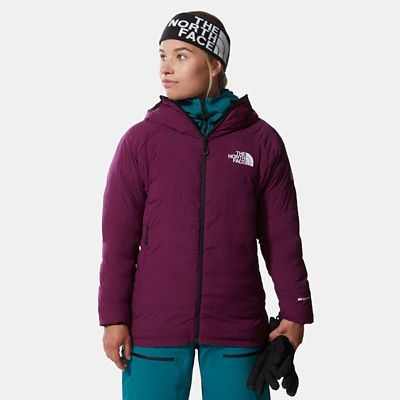 The North Face Womens L3 50/50 Hooded Down Jacket Pamplona P