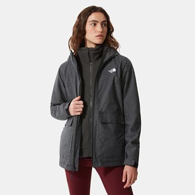 The North Face Womens New Fleece Triclimate Jacket Tnf