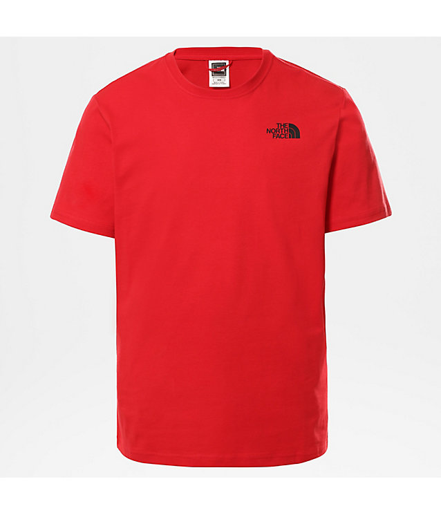 MESSAGE T-SHIRT VOOR HEREN | The North Face