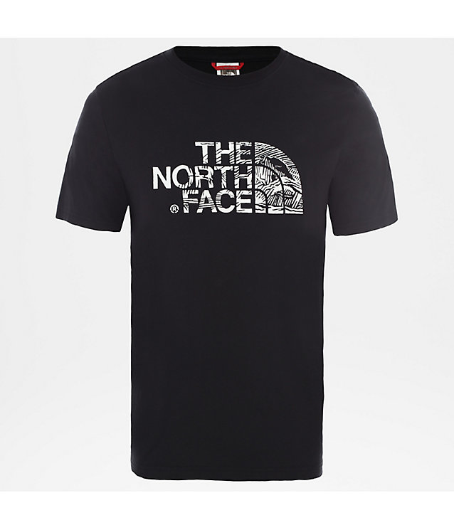 T-Shirt Woodcut Dome Pour Homme | The North Face