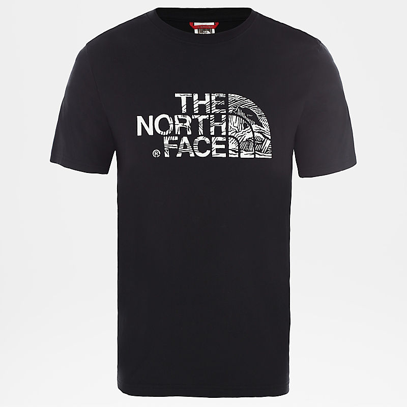 Men's Woodcut Dome T-Shirt-