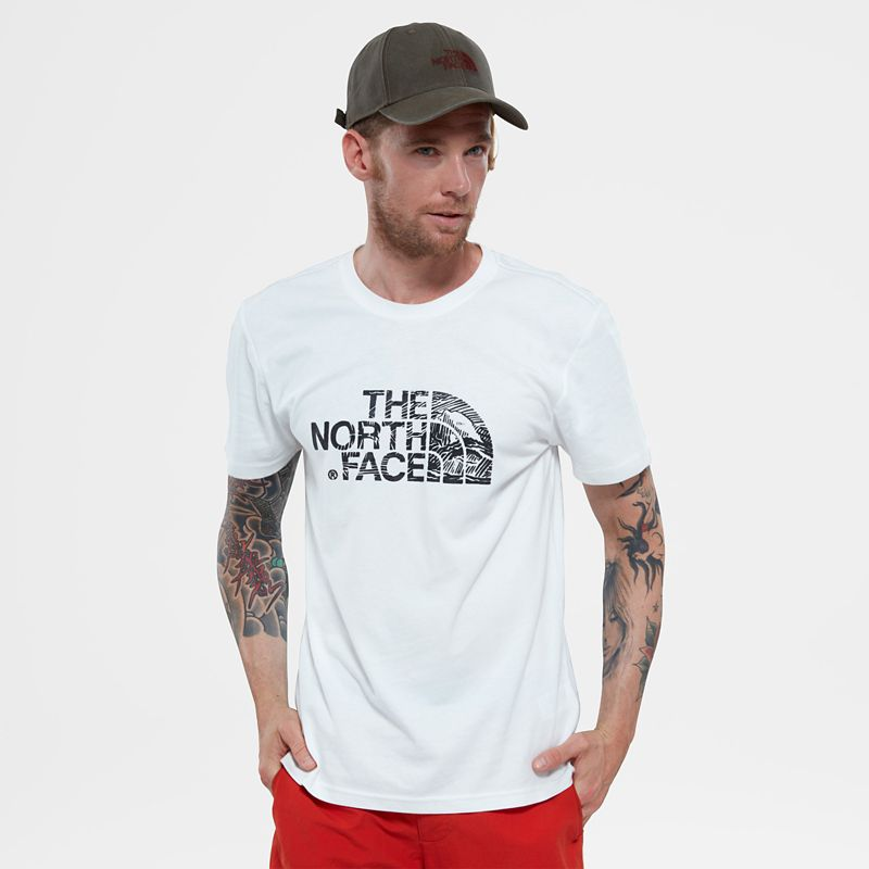 Woodcut Dome T-Shirt-