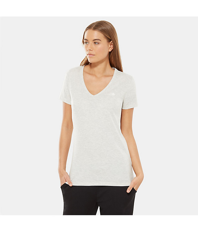 T-SHIRT DONNA A MANICHE CORTE SIMPLE DOME | The North Face
