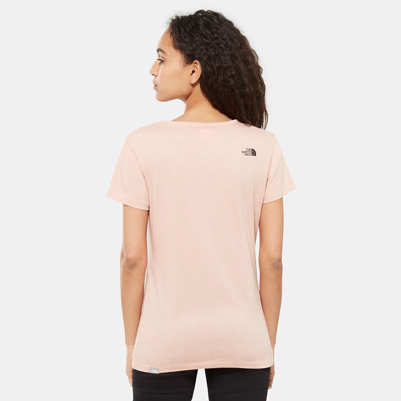 Women's Simple Dome T-Shirt-
