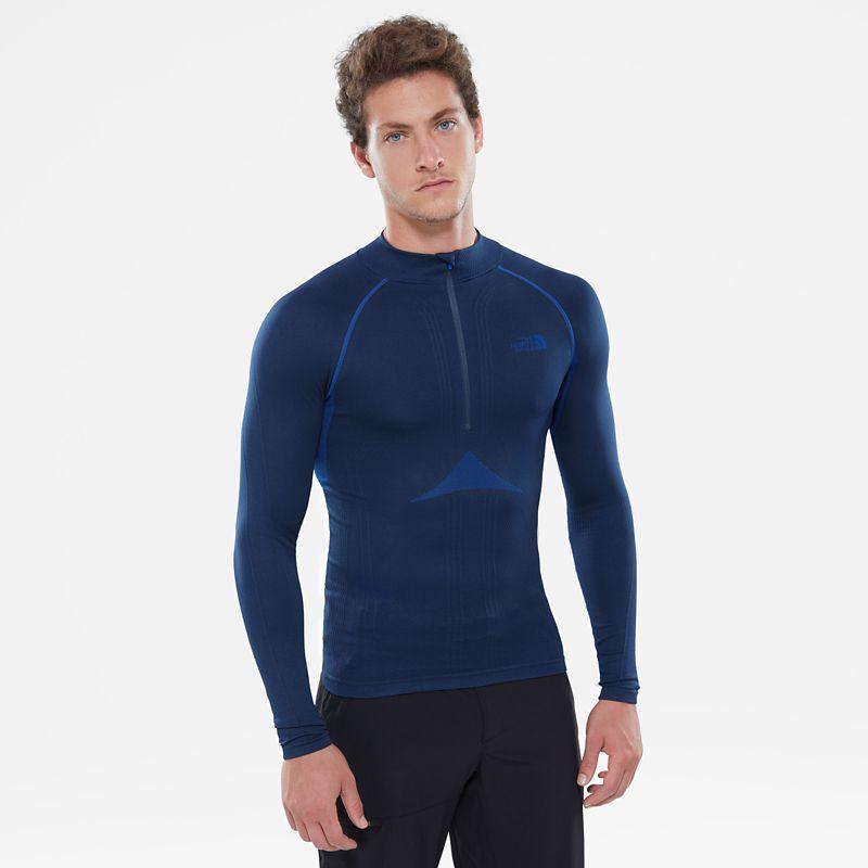 Men's Hybrid Long-Sleeve Zip Shirt-
