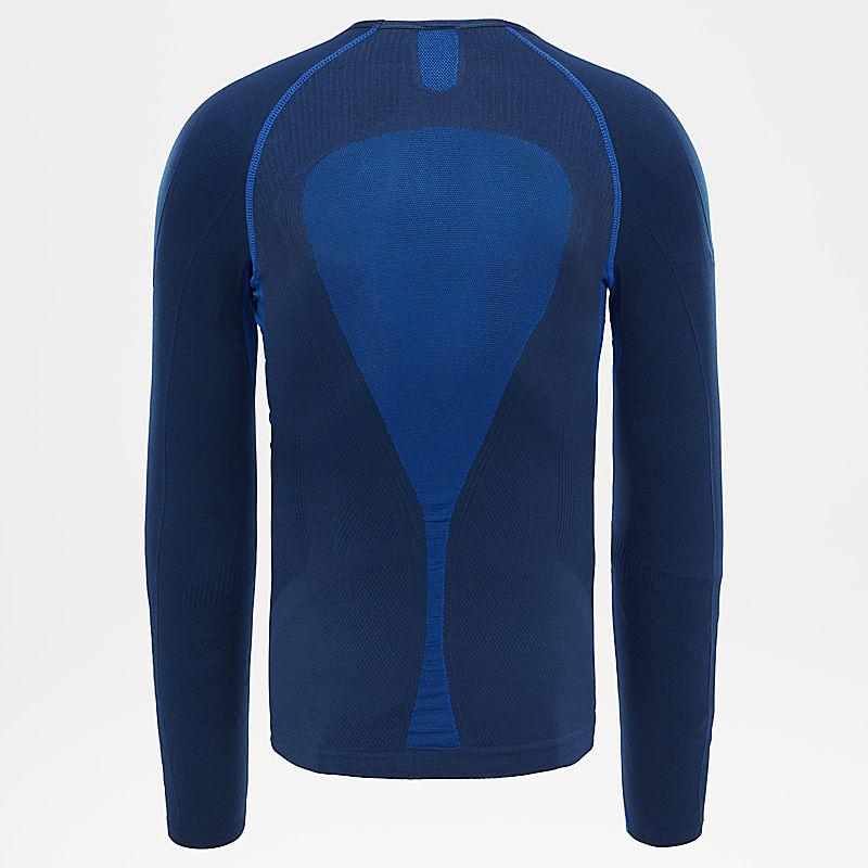 Men's Hybrid Long-Sleeved Crew Shirt-