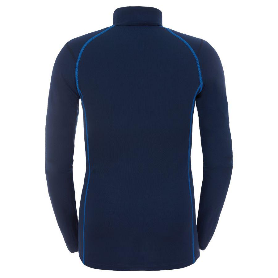 T-shirt Warm à col zippé et manches longues pour homme-