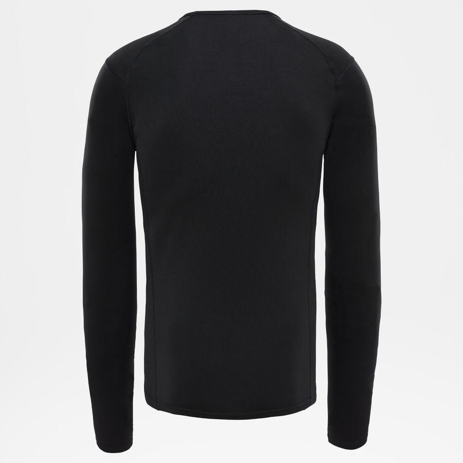 Men's Warm Long-Sleeve Crew Shirt-